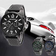 IG_ Men Boys Casual Sports Wrist Analog Silicone Band Strap Quartz Cheap Watch N