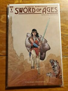 Sword of Ages 1C Rodriguez Special Edition Variant NM 2018