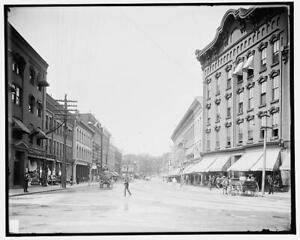 Merchants' Row,commercial facilities,buildings,roads,Rutland,Vermont,VT,c1 3658