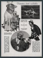Zirkus Clown Grock Reso Fratellini Chaplin Ferry Corvey Exzentrik Musik Spaß ´27