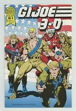 GI Joe 3-D #6 FN/VF 7.0 1989