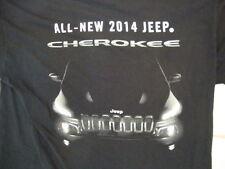 All-New 2014 Jeep Cherokee Vehicle Automobile Fan Souvenir Black T Shirt L
