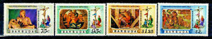 Barbuda Scott #328-331 Easter 1978 Complete Set MNH   A583