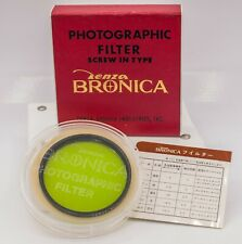 Mint Boxed - Zenza Bronica Camera System 67mm Po0 Green G55 c Lens Filter