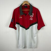 Saint George Dragons Mens Polo Shirt Size 4XL Short Sleeve Embroidered