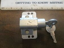 Old Wright Products plunger lock with two original working keys
