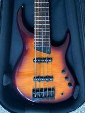Mtd Grendel 5-String Bass, Hand Made in Europe, Bartolini Pickups/Preamp, Case