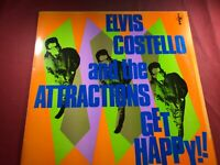 U3-35 ELVIS COSTELLO And The Attractions Get Happy ... 1980 ... JC 36347