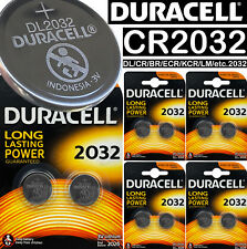 10 x Duracell CR2032 3v LITHIUM Coin Cell Batteries DL2032 BR2032 ST-T15 battery