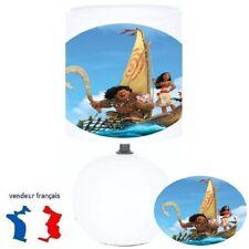 Lampe de chevet VAIANA la légende du bout du monde création artisanale N° 1