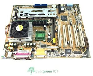 Asus A7A266-E Motherboard Athlon XP 1700 CPU 1 X 256 Mb DDR RAM With Backplate