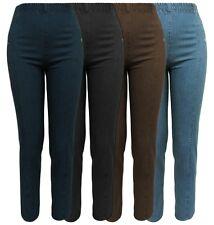 Stretchjeans - Damen Hosen DENIM Gummizug 97% Baumwolle Jeans 4 Farben Gr. 38-54