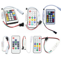 3/14/24 Key RF/IR Remote Wireless Controller For WS2811 WS2812B WS2813 LED Strip