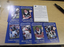 2002 PENN STATE NITTANY LIONS THE SECOND MILE COMPLETE SET (25) CARDS