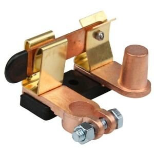 Battery Disconnect Knife Blade Switch Top Post Brass Heavy Duty Shut off 12-24V