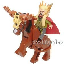C190 Lego The Hobbit Mirkwood Elf Army- Thranduil & Custom Battle Deer 79012 NEW