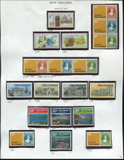 MNH NEW ZEALAND ON ALBUM PAGES-1980-1984!