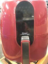 Air Fryer Red Digital Power Elite 1800w 120v 5.5 qt