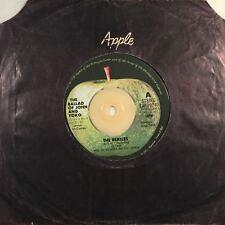 "THE BEATLES - The Ballad of John & Yoko 45rpm 7"" Vinyl Single Record Apple"