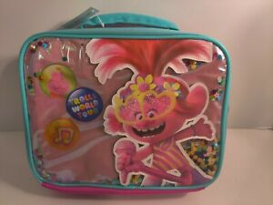 Accessory Innovations Trolls World Tour Thermal Insulated Lunch Bag Kids Pink
