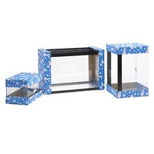 ACQUARIO di vetro semplice tutti Vasca dei Pesci Trasparente-Seal Indoor acquatico 48x15x12 NUOVO