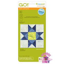 Accuquilt GO! Fabric Cutter Die Ohio Star Quilt Sewing Block on Board Die 55174
