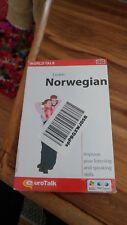 Eurotalk Talk Now Learn Norwegian for PC, Mac - Brand New