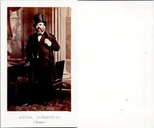 CDV Léopold Javal, homme politique, député de l'Yonne, circa 1860 Vintage C