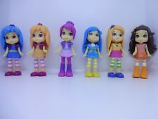 6 X GIRLS CAKE TOPPERS PLASTIC FIGURES BRAND NEW FREE P+P