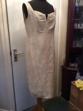 Dress/jacket Cream  outfit size 12