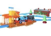TOMY Thomas Tank Engine  and Friends Sodor Quarry Loader Set Train Track