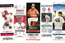 2013-17 MLB BASEBALL TICKET STUB LOT OF 100 UNUSED TICKETS YANKEES RED SOX etc