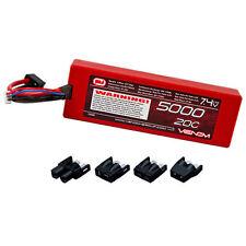 Venom 1555 5000mAh 20C 7.4V 2S Hardcase LiPo Battery w/Deans Tamiya Traxxas EC3