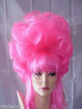 SIN CITY WIGS PRETTY IN PINK DRAG QUEEN! 1 OF A KIND CURLS BANGS DRAMATIC BACK!