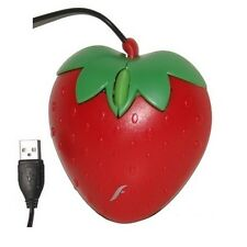 Frisby Computer PC Desktop Notebook Strawberry Fruit Gift USB Optical Mouse Mice