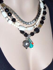 MIMCO Jewellery Mixquic Choker Necklace BNWT- Jet