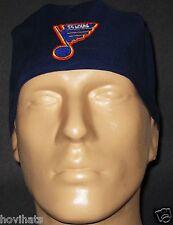 ST. LOUIS BLUES LOGO HOCKEY WITH SWEAT BAND SCRUB HAT NHL