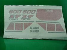 YAMAHA XT 600 43 F '83 '86 SERIE ADESIVI MOTO BIANCA