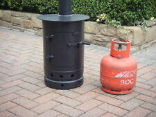 gas bottle woodburner stove