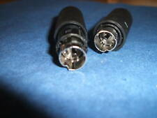 MINI Din Plug Connector 6 Pin - Pack of 2 (166)