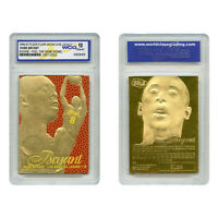 1996-97 KOBE BRYANT FEEL THE GAME Fleer NBA Legacy GOLD ROOKIE Home GEM-MINT 10