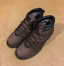 Globe Yes Apres Men's Size 12 US Brown Vibram BMX Skate Hiking Boots Deadstock