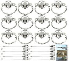(1 Dozen) Duke #1-1/2 Coilspring Dj Value Package with Dvd and Cable Stakes
