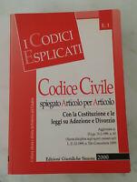 CODICE CIVILE - Edizioni Giuridiche Simone - 2000