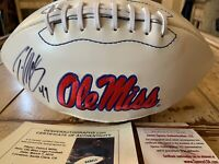 Patrick Willis Autographed/Signed Football JSA COA Ole Miss Rebels