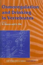 Osmoregulation and Drinking in Vertebrates (Seb Seminar Series)-ExLibrary