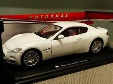1/18 Motor Max Maserati Gran Turismo weiß 79151