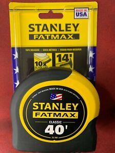 1 - 40' Stanley Fatmax Tape Measure # 33-740