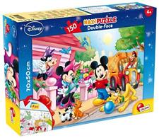 Lisciani Giochi Disney Puzzle Supermaxi 150 Pezzi Mickey Mouse Topolino 70x50 Cm