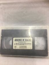 """Absence of Malice"" with Paul Newman & Sally Field VHS (1981)"